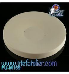 Moule fusing céramique rond Classic diamètre 14.5 cm h environ 1.2 cm