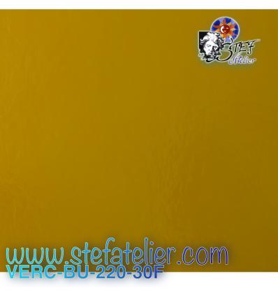 verre BU jaune tourne-sol opaque 25 X 29