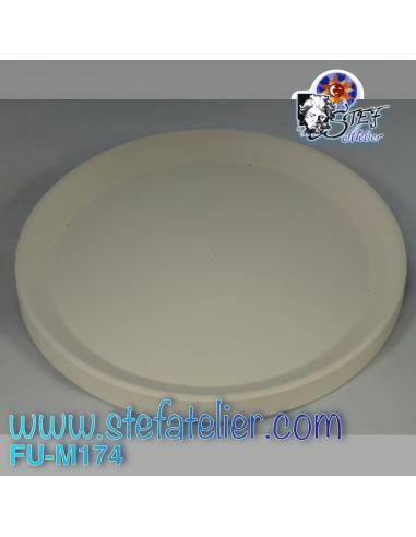 Moule fusing céramique assiette à pizza