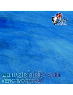 """Verre """"W"""" Mystic bleu lagon..."""