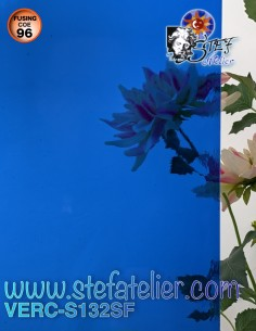 "Verre ""S"" bleu clair COE96..."