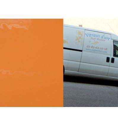 "verre ""S"" Orange Opaque compatible fusing S96 30x30cm"