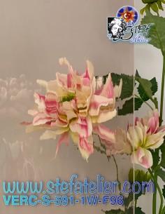 """Verre """"S"""" Waterglass rose..."""