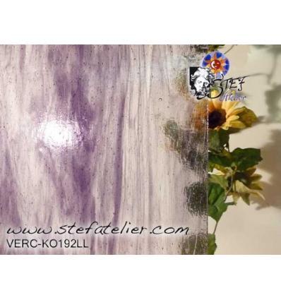 KO violet sur clair 27x27cm