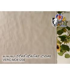"Verre ""MO"" blanc Opaque 25x25cm fusing Moretti S 104"