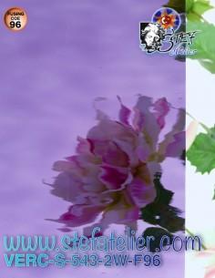 "glass ""S"" Waterglass purple..."