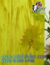 verre jaune bariolé COE96 pour vitrail et Tifany