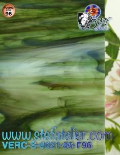 """Glass """"S"""" Green rainforest..."""