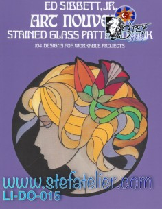 Livre vitrail ART NOUVEAU ED Sibett