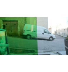 """Verre """"S"""" vert clair compatible fusinf Système  96 30x27cm"""
