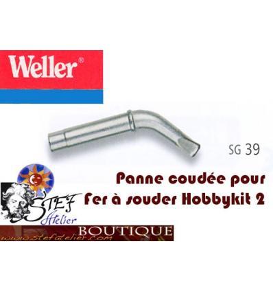 Panne de fer coudée de rechange S39 pour fer Weller 80W hobbi