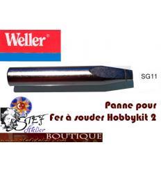 Panne de rechange  tournevis (SG11) pour Weller hobbykit2
