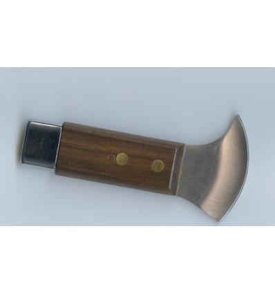 couteau à plomb Mini manche en bois