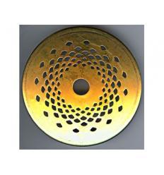coiffe perforée D-9 cm pour lampe
