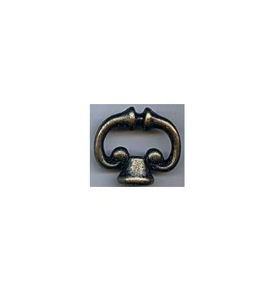 Bouton final Ring gotik 4x4,5cm