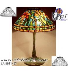 modele de lampe jonquilles 34 cmen fibre de verre complet avec plan