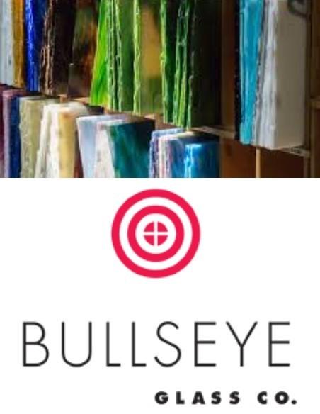 verre fusing bullseye