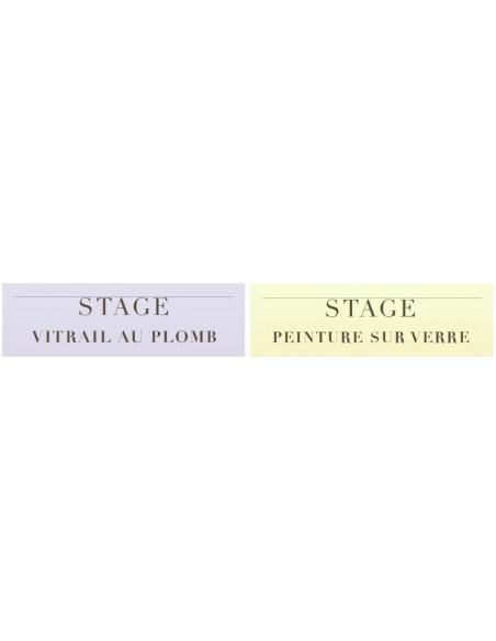 Stage Vitrail