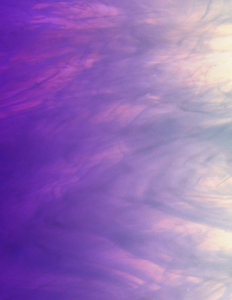 Violet glass