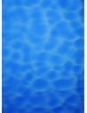 Glass plain color relief surface