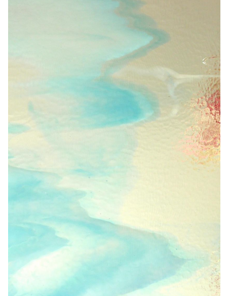 semitranslucide Multicoloured glass