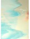 verre bariolé semitranslucide