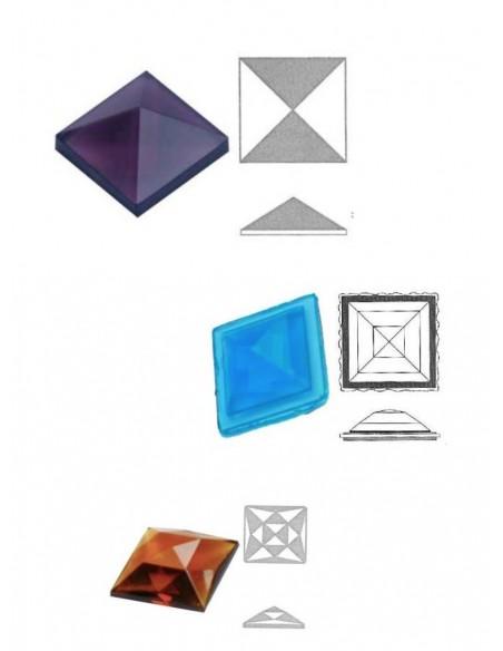 cabochon carré